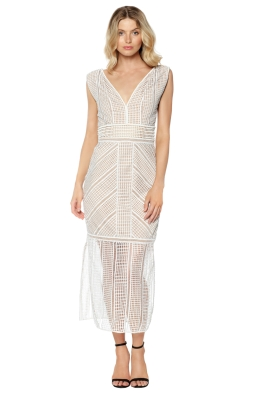 Rachel Gilbert - Daysi Maxi Dress - Ivory - Front