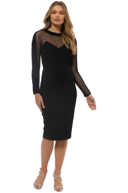Rachel Gilbert - Melody Dress - Black - Front