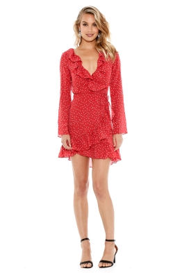 Realisation Par - Diane Dress - Red Star - Front