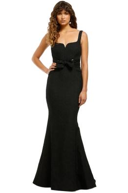Rebecca-Vallance-Greta-Gown-Black-Front