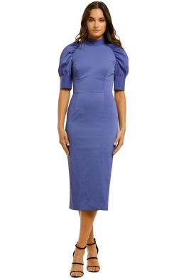 Rebecca-Vallance-Winslow-SS-Midi-Dress-Blue-Front
