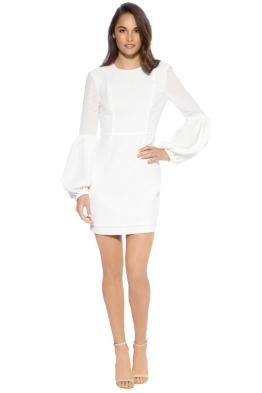 Rebecca Vallacne - Ambrosia Dress - White - Front