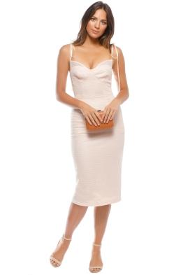 Rebecca Vallance - Avignon Dress - Nude - Front