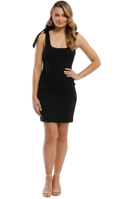 Rebecca Vallance - Dahlia Mini Dress - Black - Front