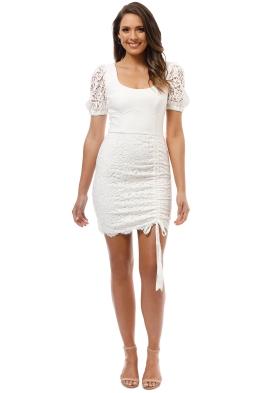 Rebecca Vallance - Le Saint Mini Dress - Ivory - Front