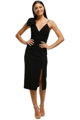 Rebecca Vallance - Love Bow Dress - Black - Front