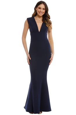 Rebecca Vallance - Mimosa Gown - Blue - Front