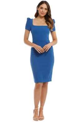 Rebecca Vallance - Poppy Dress - Cobalt - Front