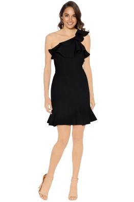 Rebecca Vallance - St Barts Mini Dress - Black - Front