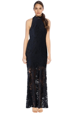Rodeo Show - Madrid Maxi Dress - Navy - Front