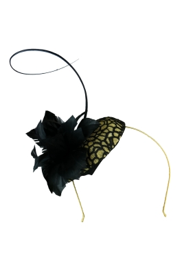 Morgan & Taylor - Rosa Fascinator - Front
