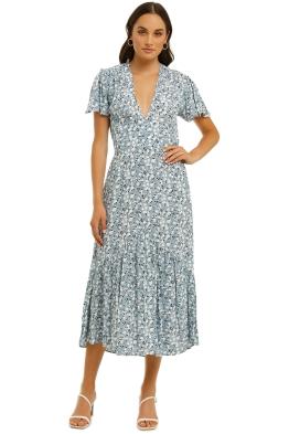 Rue-Stiic-Alder-Ruffle-Dress-Desert-Floral-Powder-Blue-Front