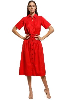 S/W/F - Trick Dress - Cherry - Front