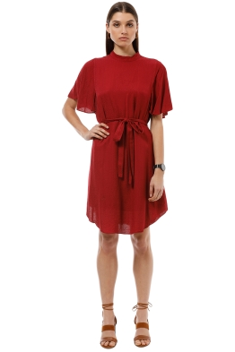 Saba - Meadow Dress - Red - Front