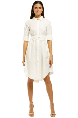 Saints-The-Label-Avignon-Pleat-Dress-Front