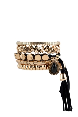 Samantha Wills - Midnight Rendezvous Bracelet Set - Gold - Front