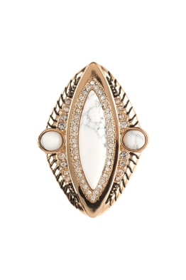 Samantha Wills - Reality of Dreams Grand Ring - Gold - Front