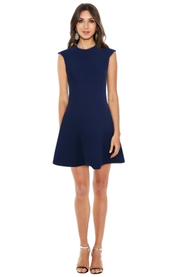 Sandro - Remind Dress Navy - Front