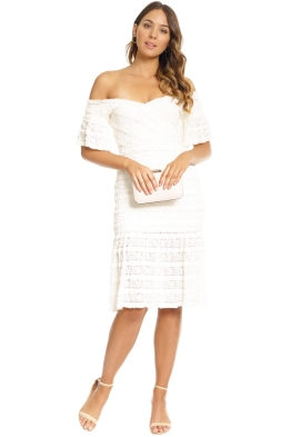 Saylor - Malinda Dress - White - Front