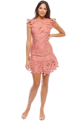 Saylor - Samantha Dress - Terracotta - Front
