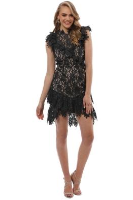 Saylor - Mollie Dress - Black - Front