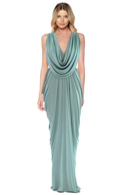 Sheike - Grecian Maxi Dress - Front