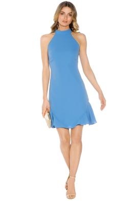 Shoshanna - Annfield Dress - Blue - Front