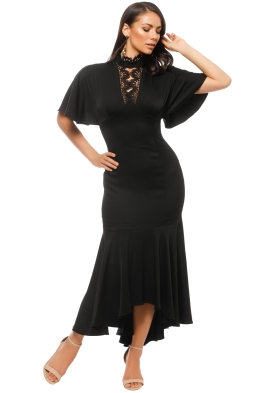 Shoshanna - Darnawa Gown - Black - Front