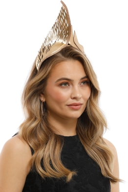 Studio Aniss - Aura Crown - Gold - Side