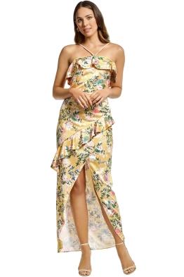 Stylestalker - Isabella Maxi Dress - Yellow - Front