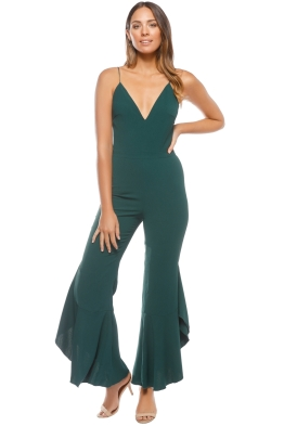 Stylestalker - Rory Jumpsuit - Teal - Front