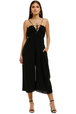 Suboo-Fine-Lines-Roule-Tie-Back-Jumpsuit-Black-Front