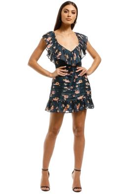 Talulah-Chain-of-Fire-Mini-Dress-Henri-Floral-Front