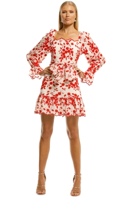 Talulah-Endless-Love-Mini-Dress-Floral-Embroidery-Front