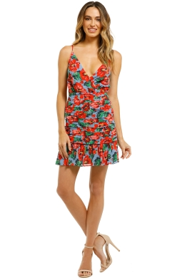 Talulah-Luscious-Mini-Dress-Luna-Red-Print-Front