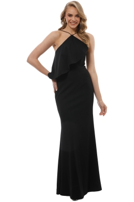 Talulah - After The Storm Gown - Black - Front