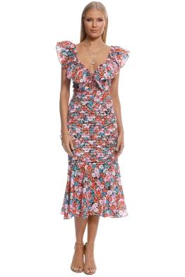 Talulah - Cloud Nine Midi Dress - Multi - Front