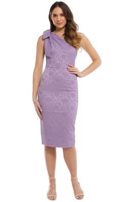 Talulah - Felicity Midi Dress - Lilac - Front
