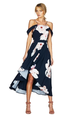 Talulah - Floral Affair Full Midi Dress - Front