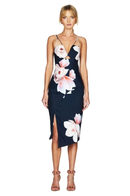Talulah - Floral Affair Midi Dress - Front