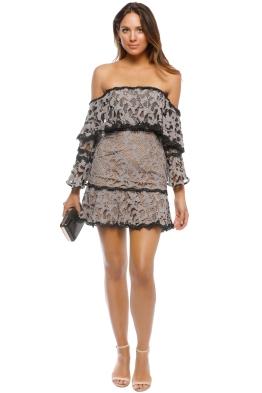 Talulah - Genre Off Shoulder Dress - Front