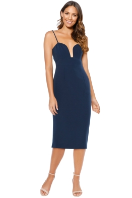 Talulah - Intimate Bodycon - Navy - Front