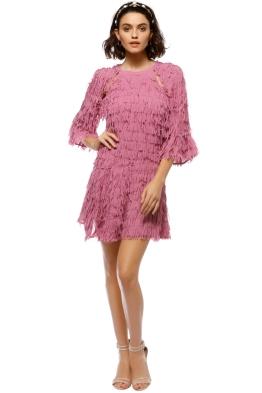 Talulah - Leilani Fringe Mini Dress - Front