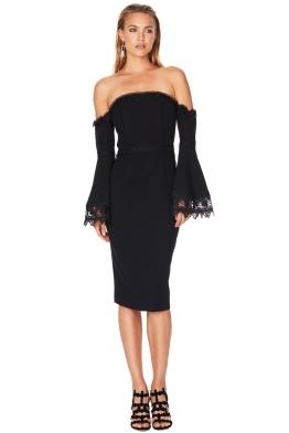 Talulah - Lose Control Off Shoulder Dress - Front