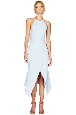 Talulah - Maison Midi Dress - Light Blue - Front