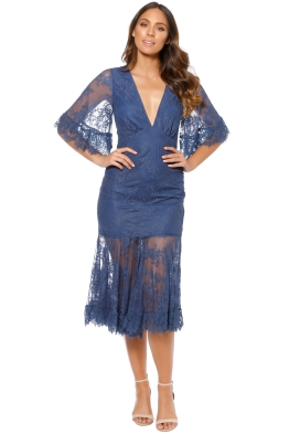 Talulah - Transpire Lace Maxi Dress - Front