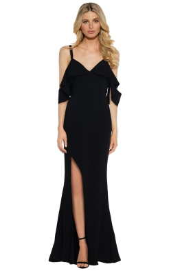 Talulah - Vanity Fair Gown - Black - Front