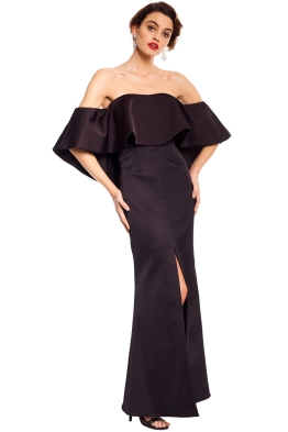 Talulah - Without You Gown - Black - Front
