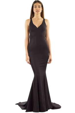 Tania Olsen - Makena Gown - Black - Front