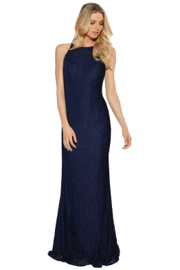 Tania Olsen - Sadie Navy Gown - Navy - Front